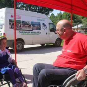 Caravana mobilitatii ajunge la Harghita si Brasov