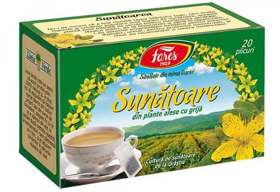 Ceaiul de sunatoare, remediul tau pentru fericire